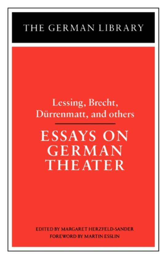 critical essays on durrenmatt
