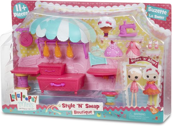 Mini Lalaloopsy Style 'N' Swap Speelset - Boutique