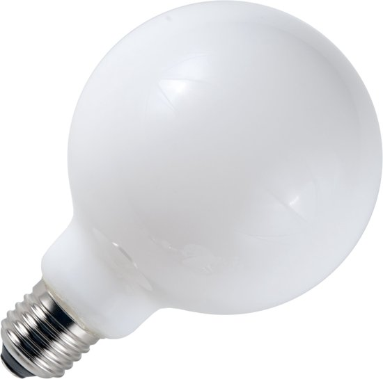 SPL globelamp LED filament  4W (vervangt 40W) grote fitting E27 80mm