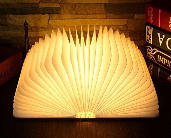 Lampen En Licht : Bol parya led book lamp donker licht led boek