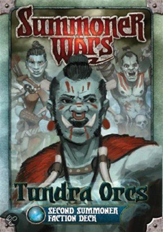 Afbeelding van het spel Summoner Wars Tundra Orcs 2nd Faction Deck
