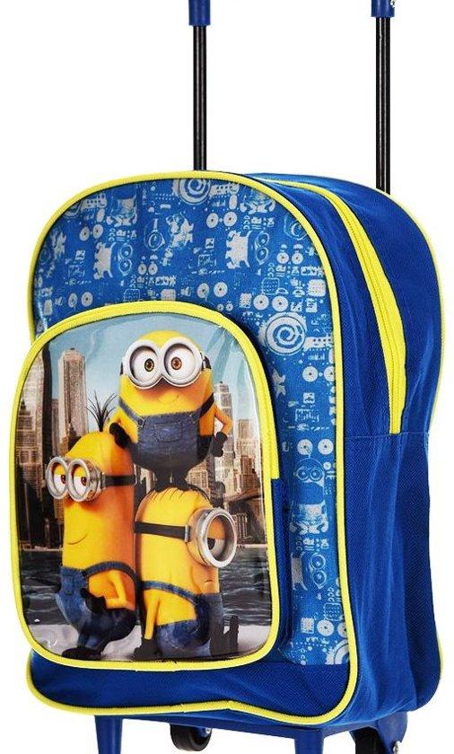 Minions Kinderkoffer - 31 cm - Blauw