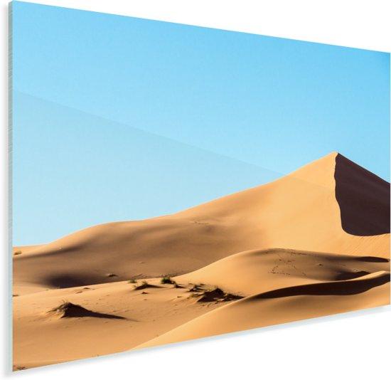 Het woestijngebied in het oosten van Marokko Plexiglas 160x120 cm - Foto print op Glas (Plexiglas wanddecoratie) XXL / Groot formaat!