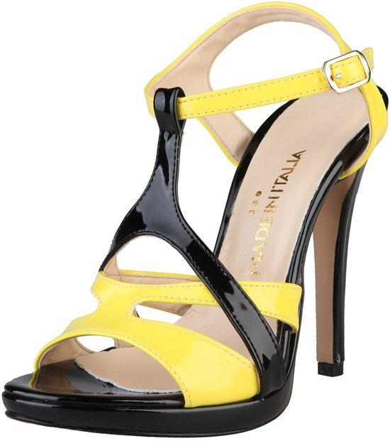 Made in Italia - Sandalen - Vrouw - IOLANDA - black,yellow