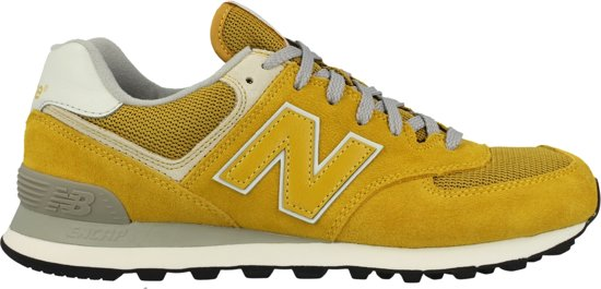 new balance 574 dames geel