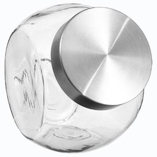 Grote Glazen Voorraadpot.Snoep Voorraadpot Met Deksel 2 1 Liter Grote Glazen Voorraad Pot Opbergpot