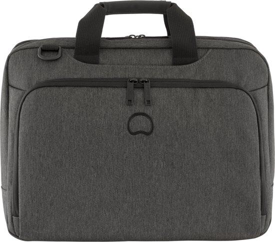Delsey Esplanade - Laptoptas - 15.6 inch - 2 Compartimenten - Zwart