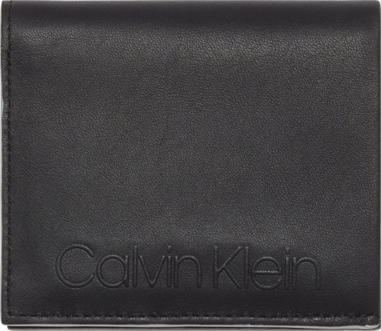 d8ea87640bb Calvin Klein – Essential – Mini NS 6CC coin pass – heren portemonnee – black