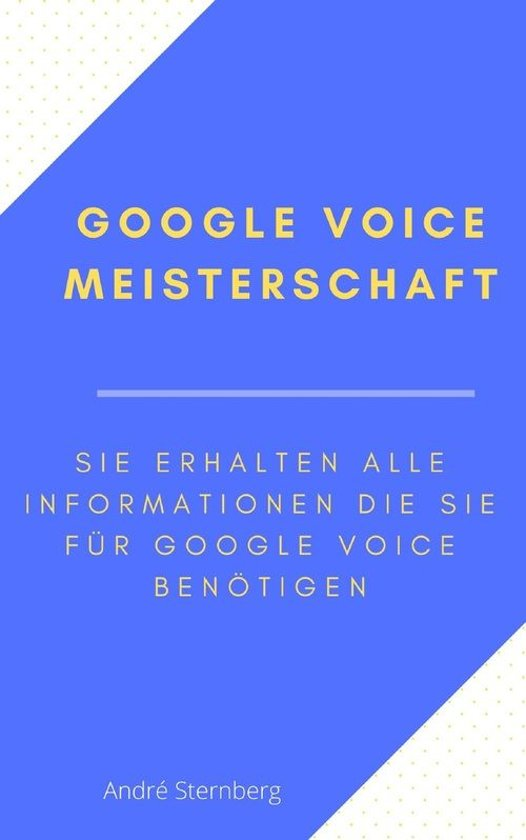Google Voice Meisterschaft