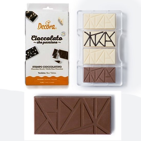 Chocolade mal  Bar / Reep - Decora