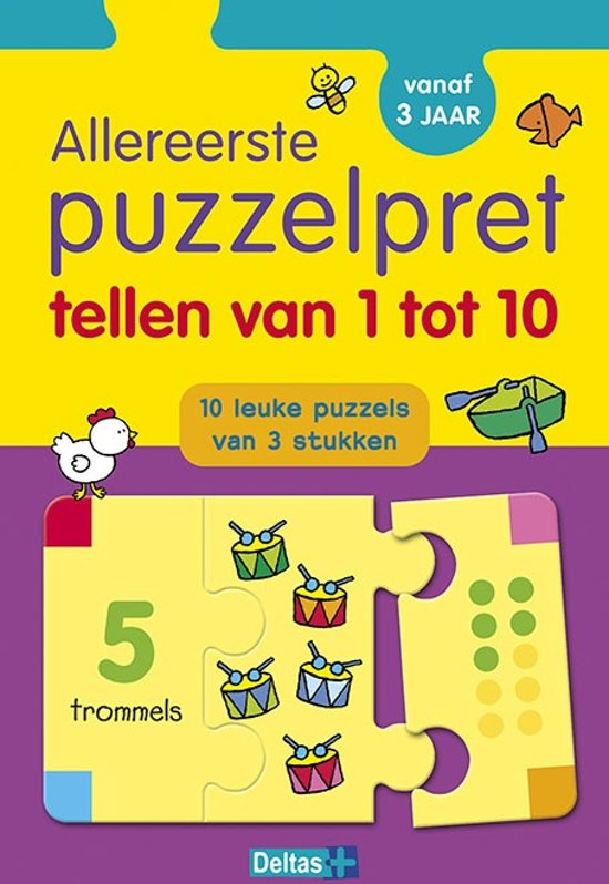 Afbeelding van het spel Allereerste puzzelpret - Tellen van 1 tot 10