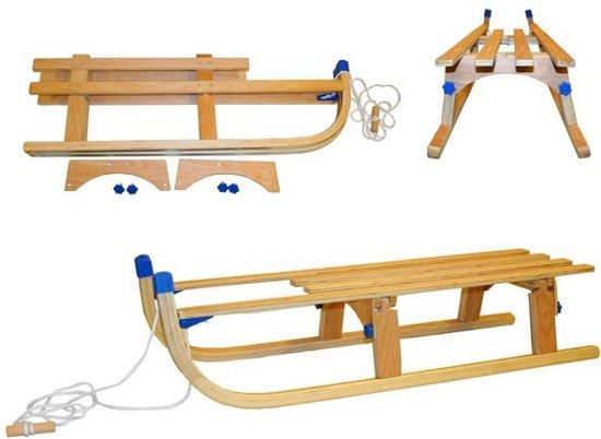 Houten Slee Opvouwbaar - Opklapbaar 110 cm