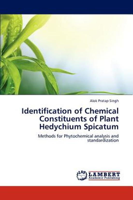 identifying a constituent of panacetin