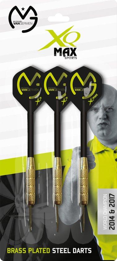 Xq Max Dartpijlen Zwart/groen 3 Stuks 11 Cm