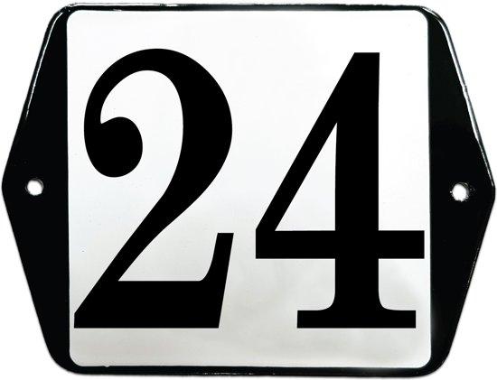 Emaille huisummer model oor - 24