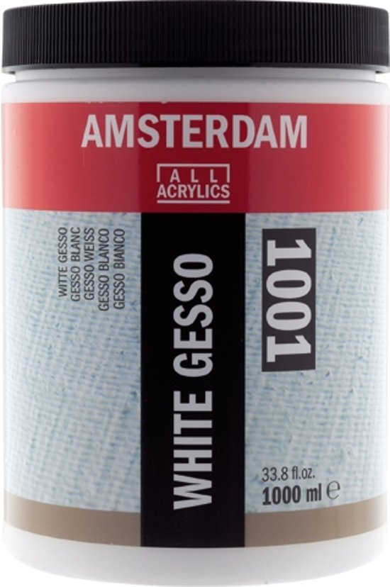 Amsterdam gesso flacon 1000 ml - wit