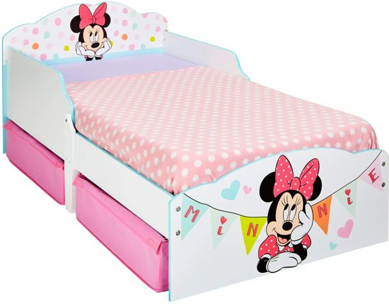 Juniorbed Tot Welke Leeftijd.Bol Com Minnie Mouse Junior Bed