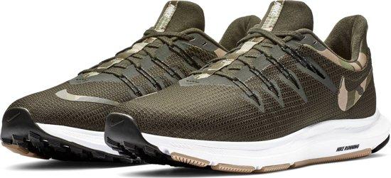 Nike Quest Camo Sportschoenen Heren - Sequoia/Desert Ore-Med Olive-N - Maat 43