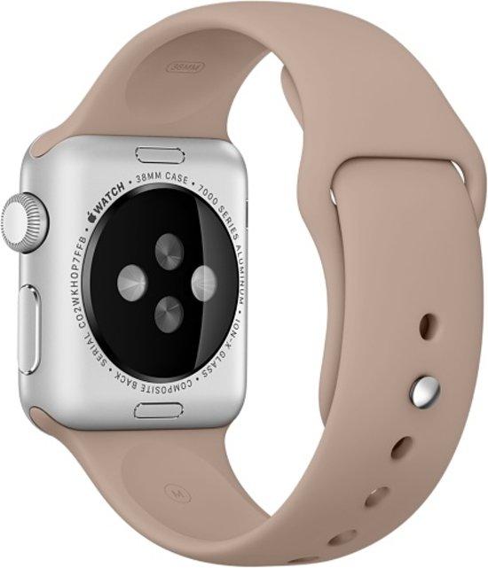 Bandje voor Apple Watch - Sport - 38mm - Lichtbruin