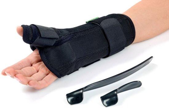 D-Ring duim- & polsbrace  Polsomtrek: 18-20 cm Rechterhand