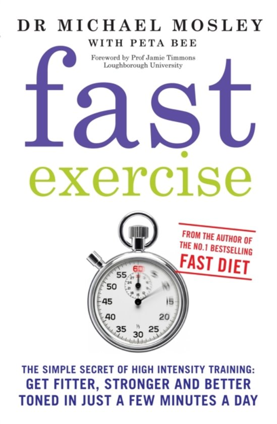 Boek cover Fast Exercise van Dr Michael Mosley (Paperback)