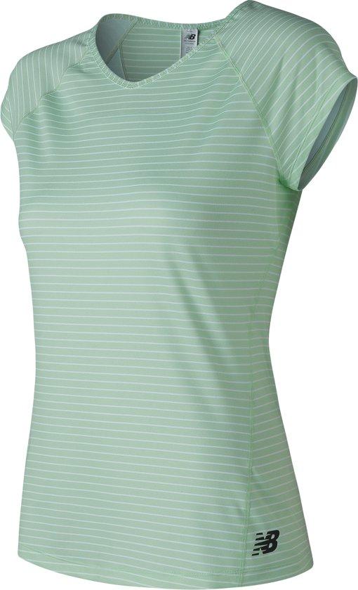 New Balance Cap Sleeve - Sportshirt - Blue