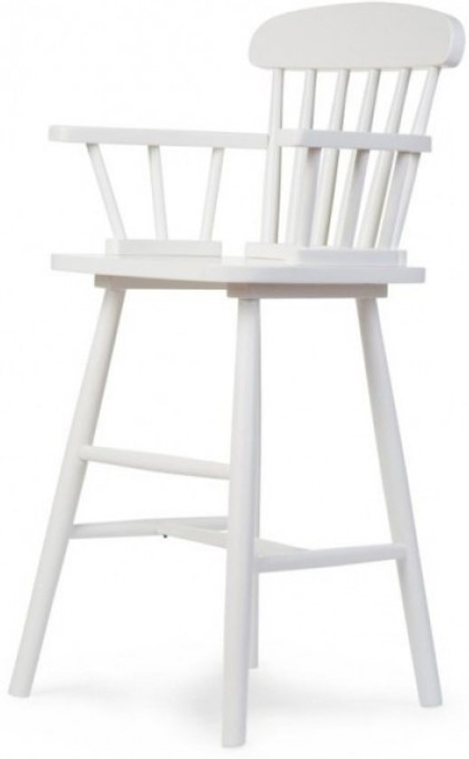 Hoge Stoel Voor Kind.Bol Com Childhome Hoge Kinderstoel Atlas Wit