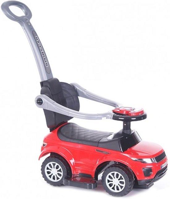 Bol Com Sport Loopauto Rood Met Duwstang Speelgoed