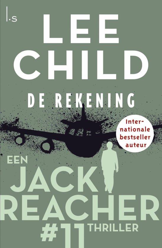 Boekomslag voor Jack Reacher 11 - De rekening