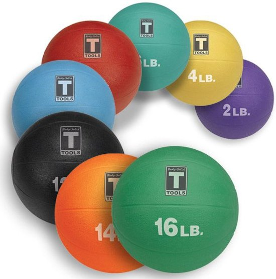 Medicine Ball 5,4KG - Body-Solid 12 LB
