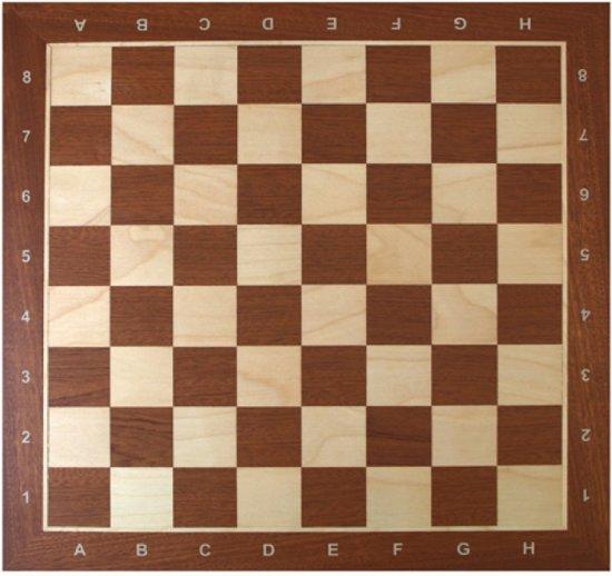 Schaakbord Staunton 6 - wedstrijd stijl