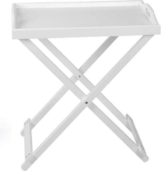 Home & Styling Inklapbaar Dienblad - 55 x 33 x 63 cm - Hout
