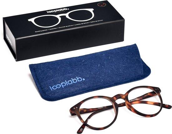 Looplabb. Lolita Leesbril - Havana bruin - Sterkte: +1.50