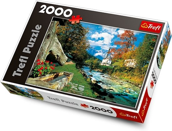 Beierse Alpen,  2000 stukjes Puzzel