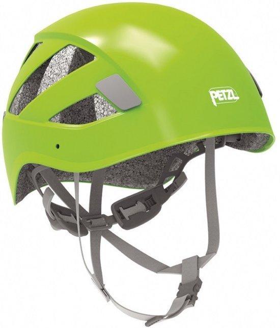 Petzl Boreo lichtgewicht helm met goede ventilatie Groen - S/M