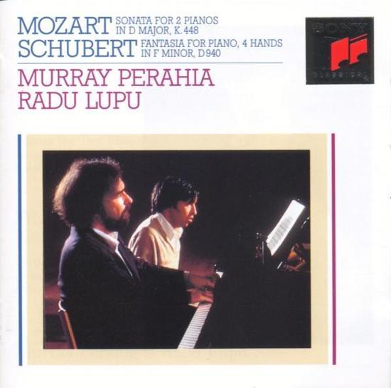 Mozart: Sonata K 448; Schubert: Fantasia / Perahia, Lupu