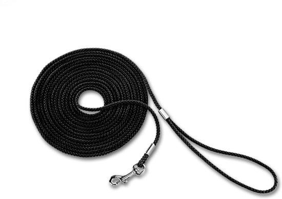 Nobby looplijn rond, nylon zwart 500 cm - 1 ST