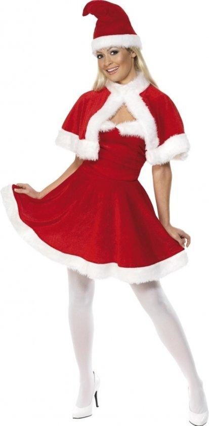 6f98e46631ba18 Rode kerstjurk voor dames 36-38 (s)