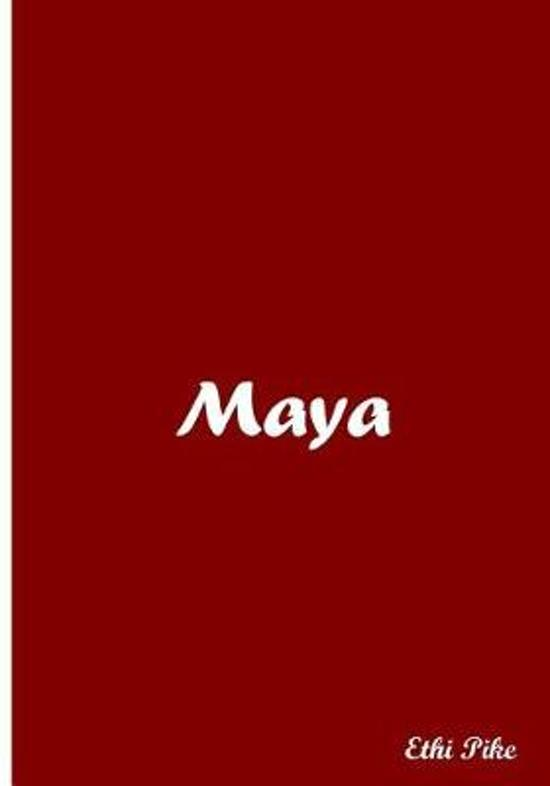 Maya - Red Notebook / Extended Lines / Soft Matte Cover