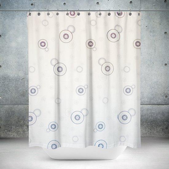 Roomture - douchegordijn - Grey Elements- 180 x 200
