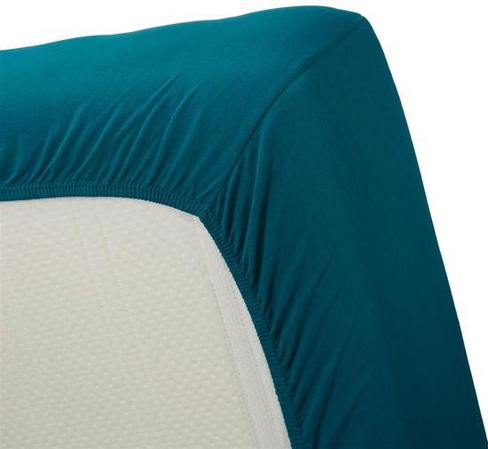 Uitstekende Jersey Hoeslaken Zeegroen | 140x210 | Heerlijk Zacht En Soepel | Duurzame Kwaliteit