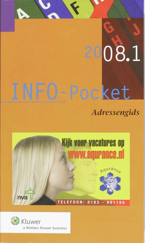 Cover van het boek 'INFO-Pocket Adressengids / 2008-001 + CD-rom / druk 1'