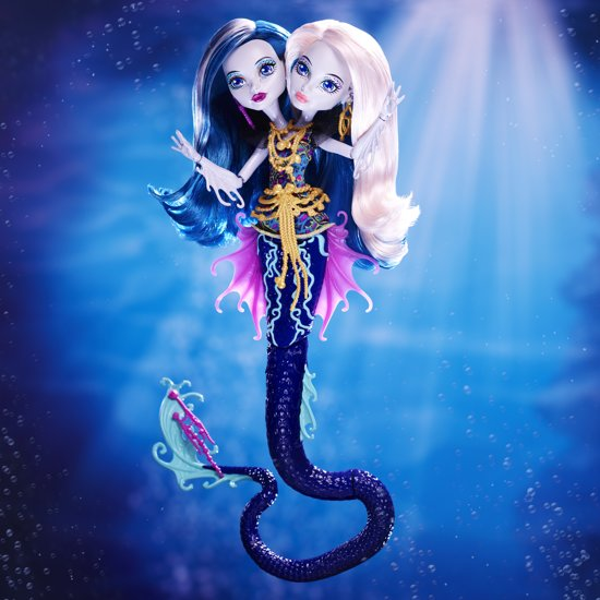 Monster High Groot Griezelrif Peri & Pearl - Modepop