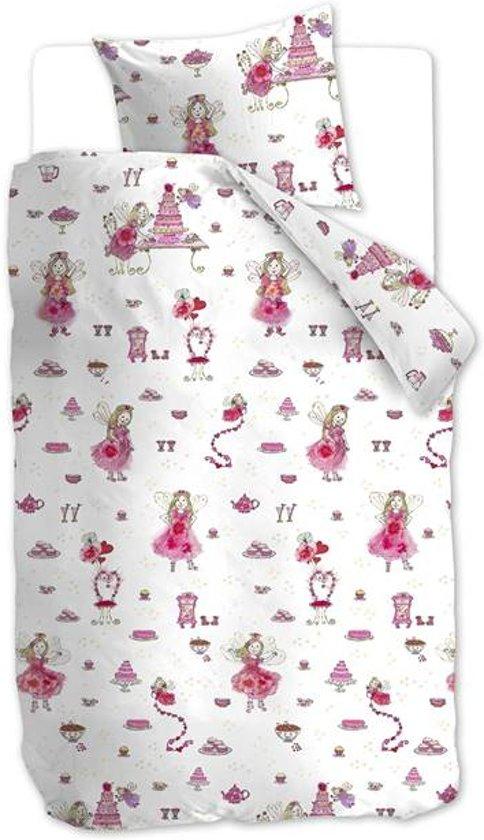 Beddinghouse Birthday Fairy - Dekbedovertrek - Junior - 120x150 cm + 1 kussensloop 60x70 cm - Roze