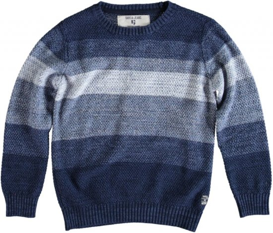 Garcia blauwe trui katoen Maat - 128/134