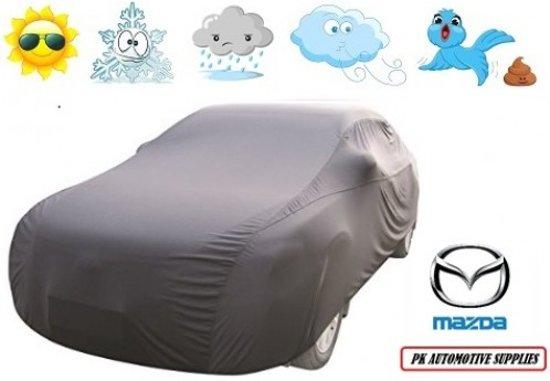 Autohoes Grijs Polyester Mazda 323 sedan 1994-1998 / 323F 1994-1998