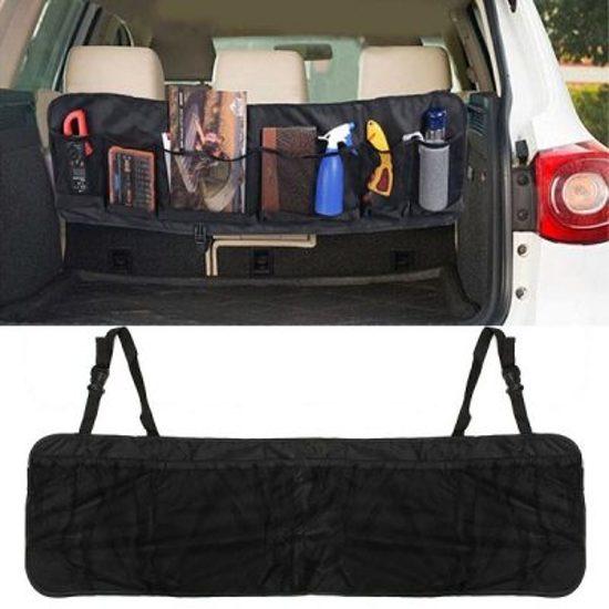 Achterbak/Kofferbak Organiser - Auto Accessoire - Vesper Products - Opruimen - Verdeler - Vakantie - Gereedschap - Extra opslag