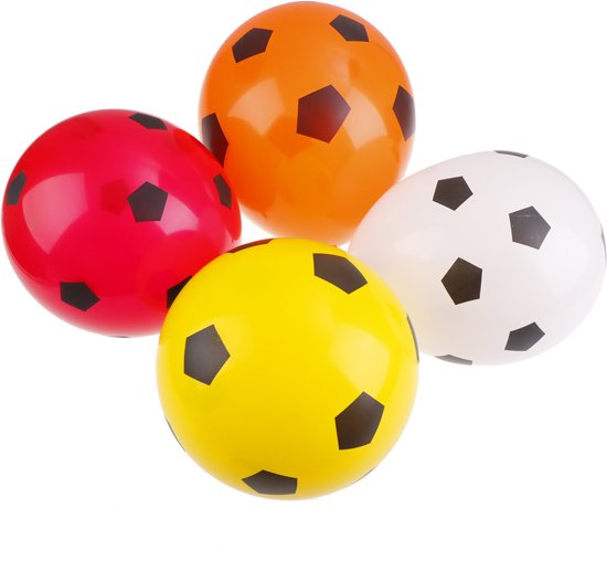 Ballonnen Soccer 30 cm 8 stuks Valentinaa