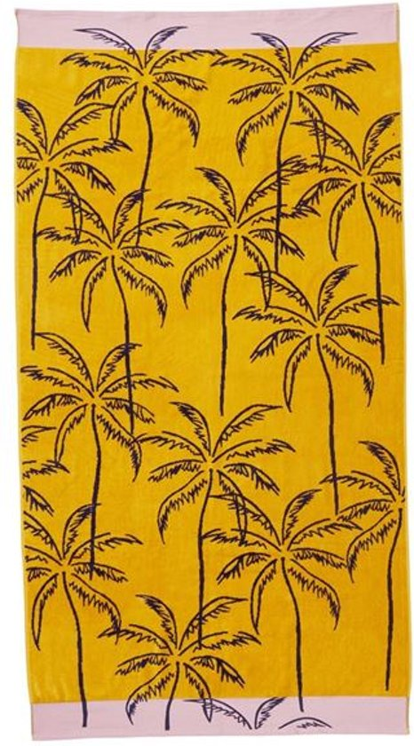 KA Mango Mojito Beach Towel Mult 100x180