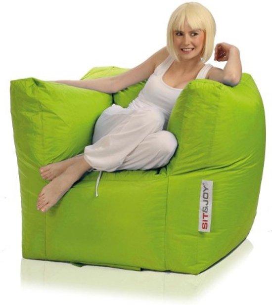 Sit En Joy Lounge Zitzak.Sit And Joy Lounge Chair Zitzak Groen